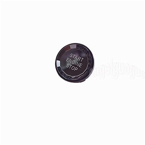 WSWJ Car Crystal Style START STOP Engine Button Replace Cover Switch Key FOR Bmw X1 X5 E70 X6 E71 Z4 E89 E90 E91 E60 E87 E92 (Color : Black)