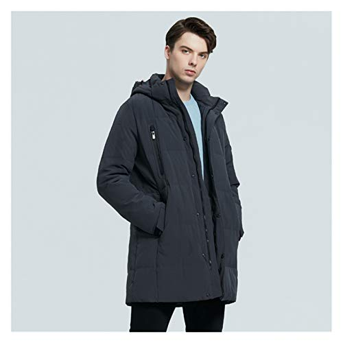 TBAO Neue Winter Herren Daunenjacken Kapuze Herren Daunenjacken Dicke Und Warme Winter Männliche Kleidung (Size : 54)