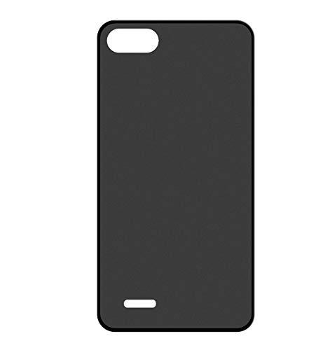 Sunrive Für ZTE Blade D6/V6/X7 Hülle Silikon, Handyhülle matt Schutzhülle Etui 3D Case Backcover für ZTE Blade D6/V6/X7(W1 schwarz) MEHRWEG+Gratis Universal Eingabestift