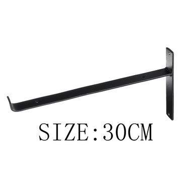 DyNamic 20/25 / 20Cm Rustikale Gerüstplatte Wandregalhalterung Industrielle Hochleistungsregalhalterungen - 30cm
