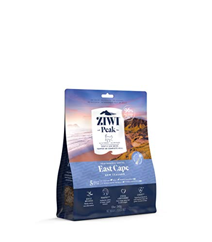 ZIWI Peak Provenance Air-Dried Cat Food – All Natural, High Protein, Grain Free with Superfoods (East Cape, 12oz)