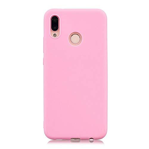 LIANLI Candy Macaron - Carcasa para Xiaomi Pocophone F1 Mi A1 A2 Lite 5X 8 SE 6X Redmi 4A 4X Note 4 5A 5 Plus 6 Pro 6A S2 Soft Cases (Color: Rosa Oscuro, Tamaño: Redmi Note 4X 64GB)