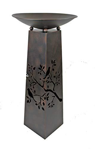GILDE Metallständer mit Ausschnitten im Set mit Schale
