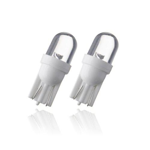 T10W1 - Blanc LED lampe ampoule de rechange feux de position W5W T10 12V éclairage de plaque d'immatriculation éclairage intérieur