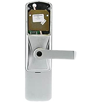 Schlage AD400 993R70 RHO 626 Electronics Security Lock Rhodes for Classroom//Storeroom Function with C123 Cylinder Keyed Different AD400993R70RHO626
