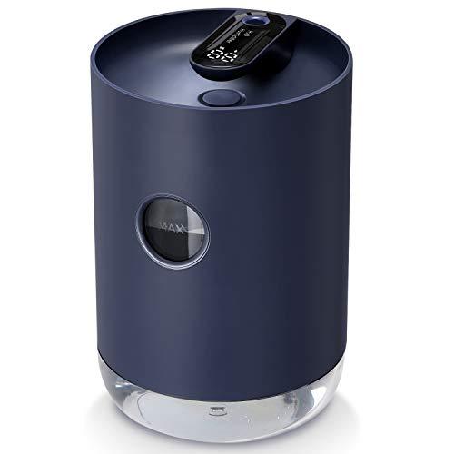 SmartDevil Luftbefeuchter 1000 ml,tragbarer wiederaufladbarer Luftbefeuchter mit 3000 mAh Batterie, Nachtlichtfunktionen, automatische Abschaltung für Schlafzimmer, Büro, Essential Oil Forbidden