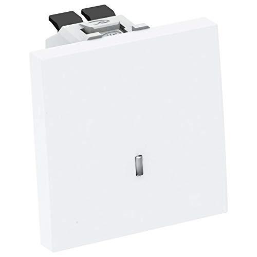 OBO Bettermann Vertr 4012196570898 WS-UKL RW1 - Interruptor con luz de control
