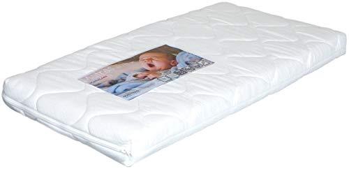 MamaLoes Iris, Babywiegematratze/Matratze für Babywiege, ÖKO-TEX® zertifiziert, 100% schadstofffrei, 40x80x7 cm