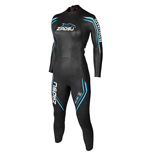 ZAOSU Damen Neoprenanzug Racing 2.0 | Flexibler Openwater Triathlon Wetsuit fürs Freiwasser Schwimmen und Wettkämpfe, Größe:WM