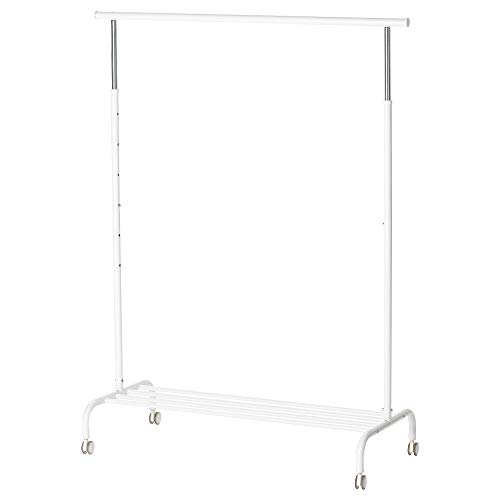 Ikea RIGGA - Clothes rack, white