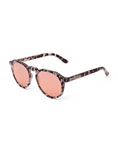 HAWKERS WARKWICK Gafas de sol, Gris/Dorado rosa, One Size Unisex Adulto