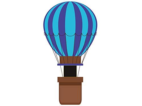 Photocall Globo aerostatico Azul | 0,79 m x 1,52 m | Photocall Ideal para Fiestas | Accesorios de Regalo | Photocall Original