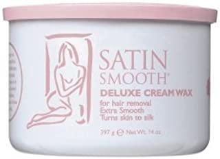 Satin Smooth Deluxe Cream Wax, 12 Pack, Pink