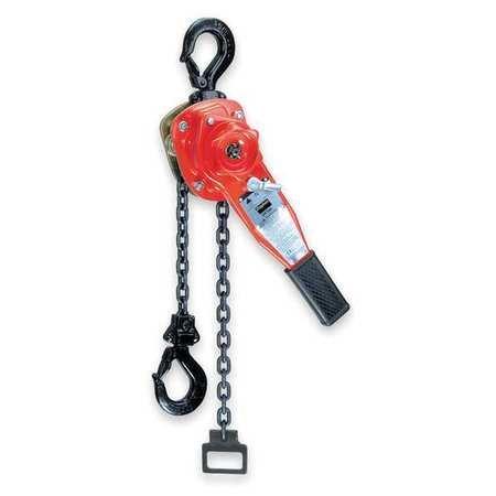 Lever Chain Hoist, 1650 lb, Lift 5 ft.