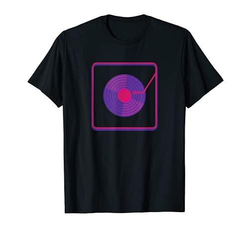Vinilo Record - Grabador DJ Audiophile LP EP Regalo Camiseta