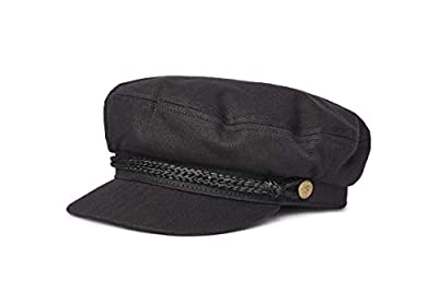 Brixton Men's Fiddler Greek Fisherman Hat, black, X-Small