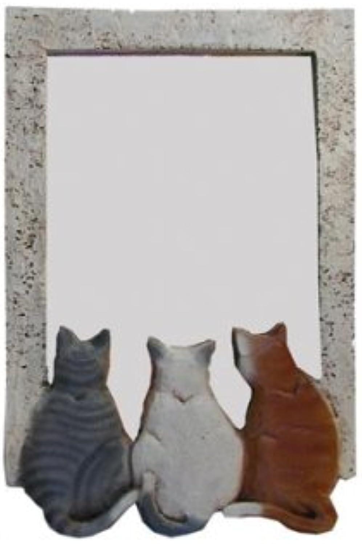 Piazza Pisano Cat Wall Decor Kitty Mirror