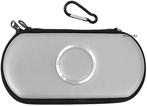 SONY PSP 1000 2000 3000 Slim Carry Case Cover Bag Game Pouch White