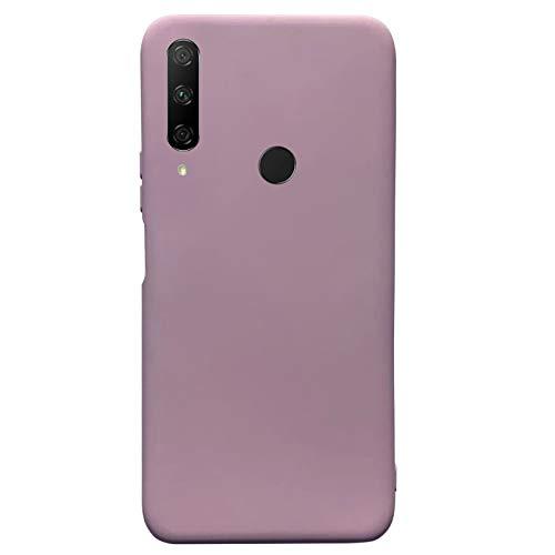 Compatible para Huawei Honor 9X Carcasas(2020)+3D Protectores de Vidrio Templado/Case Caso Silicona TPU Airbag Anti-Choque Bumper Ultra-Delgado Blandas Fundas para Huawei Honor 9X-Rosa
