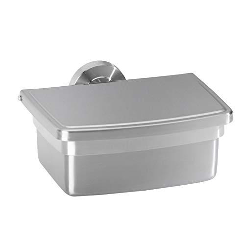 AMARE Feuchttücherbox, Edelstahl, Silber, 16