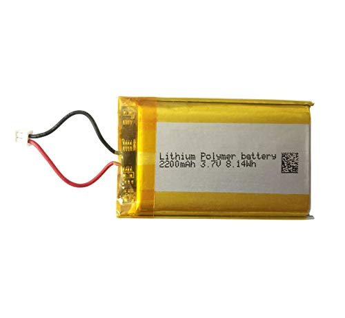 Lip1922-s Battery 2200mAh for PS4 Pro Battery Replacement - with Integrated Light Bar PS4 Controller Battery Replace LIP1522 Battery Pack for CUH-CZT2 CUH-ZCT2U Series Controller - (LIP1922-S_ 1PACK)