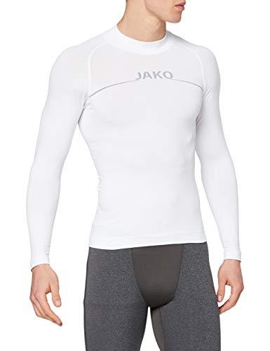 Jako - Turtleneck Comfort - Sous-vêtement fonctionnel - Homme - Blanc - Taille: M