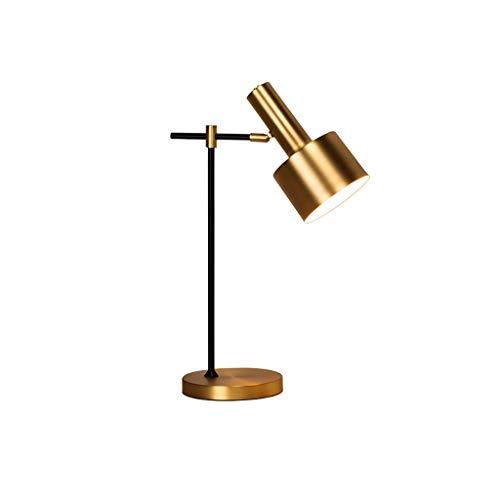 Luz Mesa de Noche Lámpara de lectura de metal lámpara de mesa lámpara de cabecera lámparas de mesita de noche lámpara del trabajo de oficina oro for el dormitorio de la sala de regalos LED Lámpara
