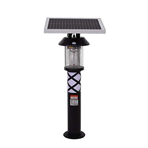 LILOVE Lámpara Solar para Matar Mosquitos, Lámpara Solar para Matar Insectos, Luz De Jardín para Zonas Residenciales, Lámpara De Calle Repelente De Insectos