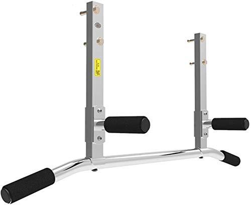 Barra Dominadas Pared Montado en la pared pull-up White Bar aptitud de barras horizontales con Crossbeam Inicio Entrenamiento de fuerza Equipo de la aptitud del ejercicio de barras horizontales