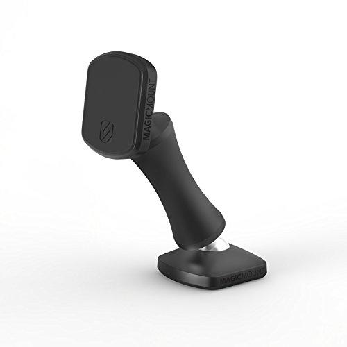 Scosche MEDSG-XTET Magicmount Elite Magnetische Smartphone/GPS-Halterung für das Auto, Raumgrau Doppel-Pivot, magnetisch, Double-Pivot, Space Gray Elite