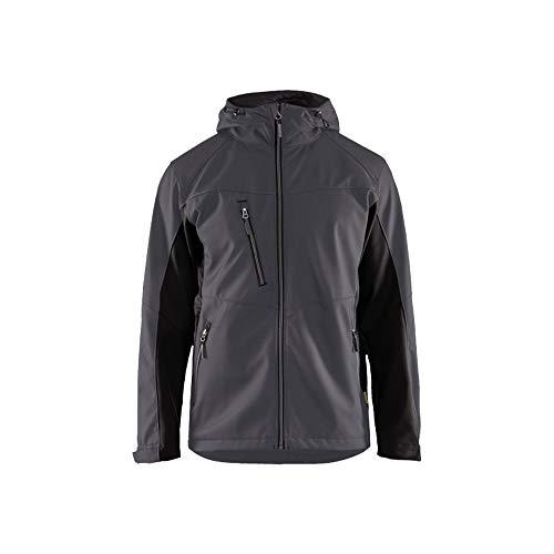 Blaklader 475325169699M Softshell Jacke, Mittelgrau/Schwarz, Größe M