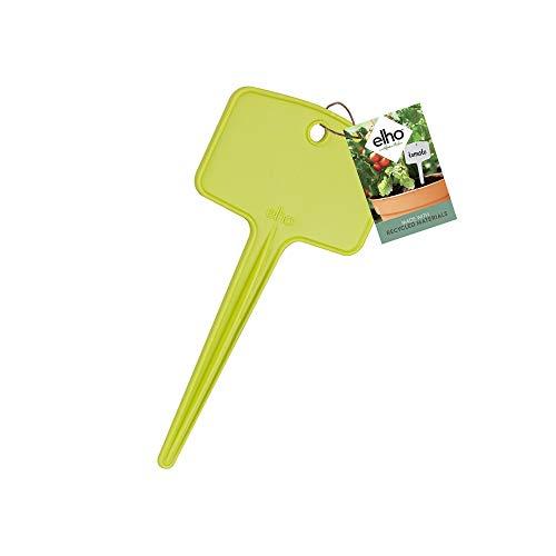 Elho Green Basics Etiq À Planter S (set/5) - Lime Vert - Extérieur - L 0.4 x W 6.3 x H 6.3 cm