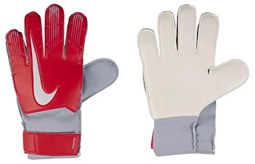 Nike Kinder Torwarthandschuhe Junior Match (rot/grau, 5)