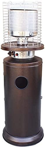SHUKUILIUDT Calentador de Patio Calefactor Calentador de Patio planteador de propano líquido de Acero Inoxidable Propano Multifuncional Calentador Exterior, Caldera de Agua