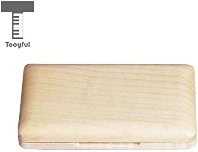 Value-5-StarBlack Walnut Reed Storage Case for Clarinet Saxophone Woodwind Instrument Parts
