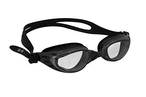 Nivia 4089 Eliminator Swimming Goggles (Black)