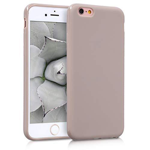 kwmobile Hülle kompatibel mit Apple iPhone 6 / 6S - Handyhülle - Handy Hülle in Creme matt