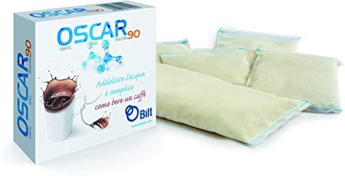 OSCAR 90 OEM Filterbeutel | Systemunabhängig | Entkalkung | Wasserenthärter | Kaffeemaschine | Espressomaschine | Siebträgermaschine | Wassertank (1, 90)