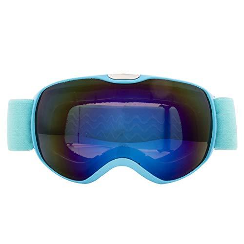 Kinderskibrille doppelschichtige Anti-Fog-Windschutzscheibe