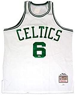 Bill Russell Autographed Jersey - Mitchell & Ness - Autographed NBA Jerseys