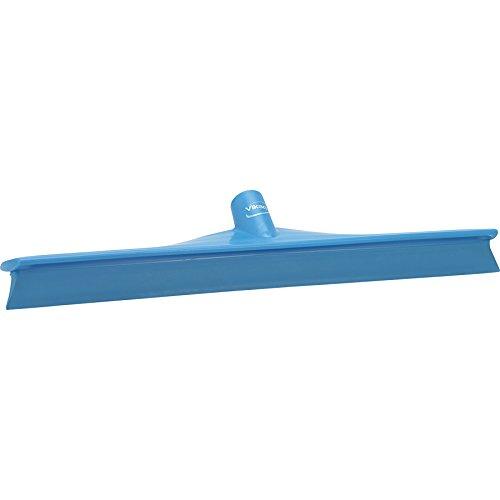 Polypropylen-Wasserschieber von Vikan mit Gummistreifen, 7150, blau, 1