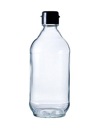 FTA-400N 400ml ドレッシング・タレ瓶 (黒ヒンジ)