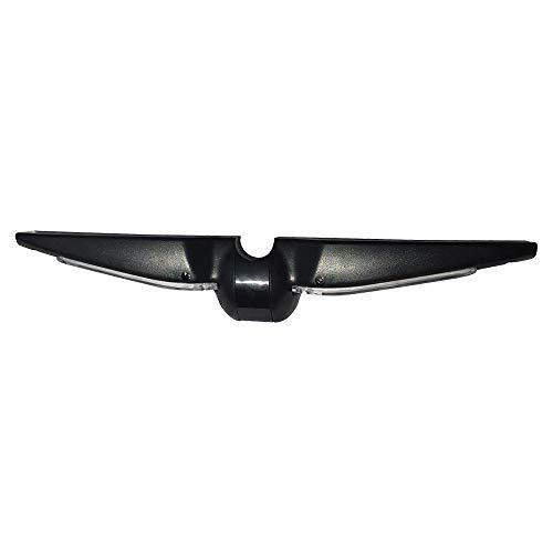 Panel Trasero Decorativo con luz para Segway Mini Pro Negro