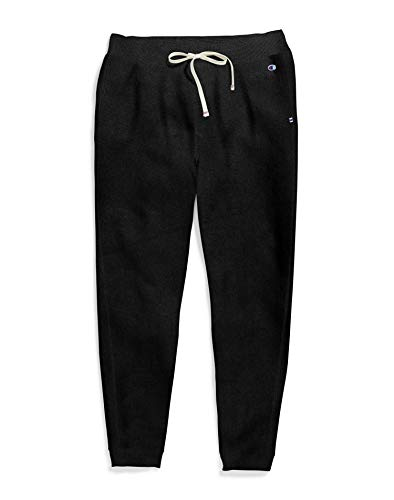 Champion Women's Plus Size Heritage French Terry Jogger, black, 2X