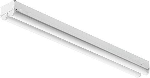 Lithonia Lighting CMNS L24 2LL 120V 840 LED Striplight-2-Light, 4000K, 32 Watts, 120 Volts, 2200 Lumens, 2 Foot, White