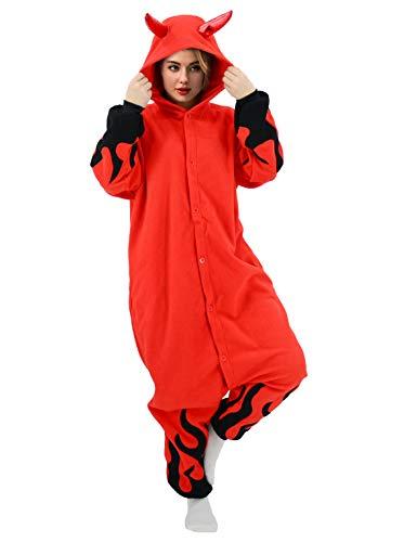 vavalad Adult Onesie Pajamas Party Cosplay Homewear Sleepwear Jumpsuit Costume for Women Men Boys Girls