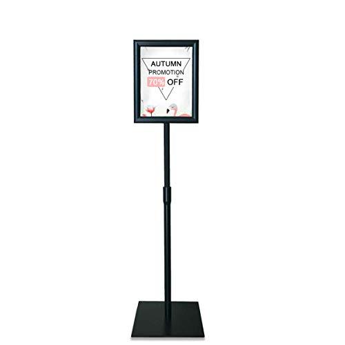 HAITIAN スタンドボード 案内板 ブラック A4サイズ 高さ調節可能 メニュースタンド 会社案内 お知らせ 掲示板 イベント受付 お店 エントランス 情報板