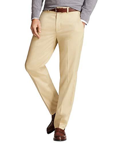 Brooks Brothers Men's 79037 Performance Series Pants, Khaki (32x30)