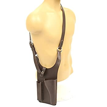German WWII Panzer P08 Luger Brown Leather Holster