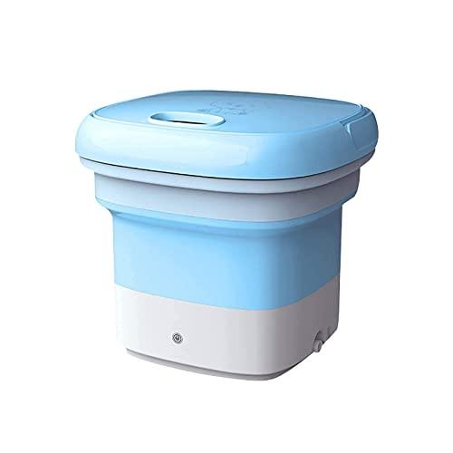SHUILV Mini Lavadora Plegable, Lavadora compacta, Lavadora Conveniente Ligera for Acampar, Viajar, Dormitorio de apartamento